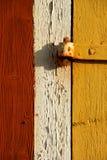 Drzwi z zawiasem fotografia royalty free