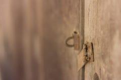 Drzwi zakończenie i otwiera ` t kędziorek i przywdziewa drzwi Obraz Royalty Free