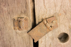 Drzwi zakończenie i otwiera ` t kędziorek i przywdziewa drzwi Zdjęcia Royalty Free