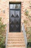 drzwi zieleń Zdjęcia Stock