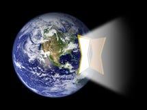 drzwi ziemskiej hemisfery wrotny s western Fotografia Stock