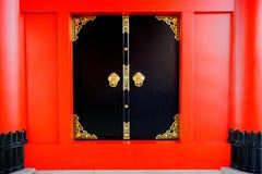 drzwiowa ji kaminarimon senso strony świątynia Fotografia Royalty Free