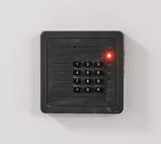 Drzwiowa kontrola dostępu klawiatura obrazy royalty free
