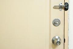 drzwiowa ochrona zdjęcia royalty free