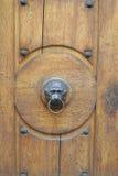 Drzwiowa rękojeść w postaci lwa głowy Zdjęcie Stock