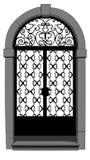 drzwiowa ręka stary odszukany Venice Zdjęcia Royalty Free