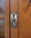 drzwiowa spiżarni rękojeść Obrazy Royalty Free