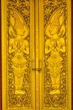 drzwiowa złocista świątynia Obrazy Royalty Free