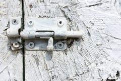 Drzwiowa zapadka fotografia stock
