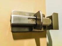 Drzwiowa zapadka zdjęcia stock