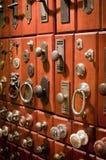 drzwiowe gałeczki Fotografia Royalty Free