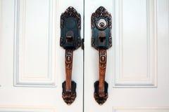 drzwiowe rękojeści zdjęcie royalty free