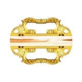 Drzwiowe rękojeści na bielu zdjęcia royalty free