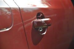 Drzwiowe rękojeści na samochodzie Obrazy Stock