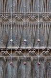 Drzwiowego grille abstrakta motyw Obraz Royalty Free