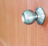 Drzwiowej gałeczki kędziorki fotografia royalty free