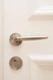drzwiowej rękojeści kędziorek Obraz Stock