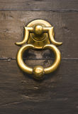 drzwiowej rękojeści stary rocznik Zdjęcia Stock