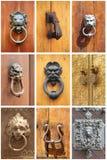 Drzwiowi knockers Zdjęcie Royalty Free