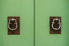 Drzwiowi knockers Zdjęcia Stock