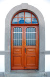 drzwiowi szklani okno Zdjęcia Stock