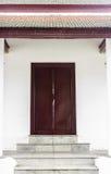 Drzwiowy Świątynny Tajlandia Obrazy Royalty Free