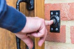 Drzwiowy Bell Zdjęcie Stock