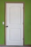 drzwiowy biel Obrazy Royalty Free