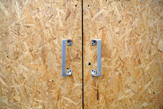Drzwiowy chipboard Obrazy Stock