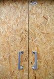 Drzwiowy chipboard Zdjęcia Royalty Free