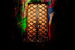 drzwiowy czarodziejski ogon Zdjęcie Royalty Free