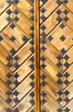 drzwiowy drewniany Obrazy Stock