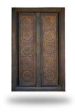 drzwiowy drewniany Zdjęcie Stock
