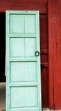 Drzwiowy drewniany rocznik Zdjęcia Royalty Free