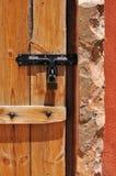 drzwiowy drewno Zdjęcie Royalty Free
