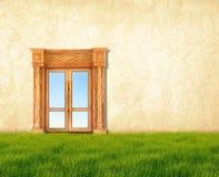 drzwiowy drewno Obrazy Stock
