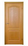 drzwiowy drewno Zdjęcia Stock
