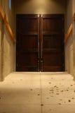 drzwiowy drewno Obraz Stock