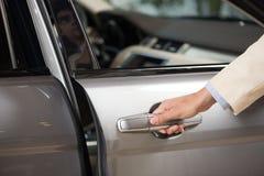 drzwiowy drzwiowe rękojeści Obrazy Stock