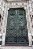 drzwiowy duomo zdjęcie royalty free