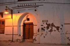 Drzwiowy, Dziejowy Gromadzki Jeddah, obrazy stock