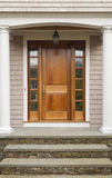 drzwiowy ganek frontowy Zdjęcia Stock