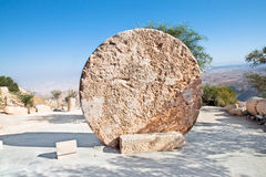 drzwiowy Jordan monasteru góry nebo kołysania się kamień Fotografia Royalty Free