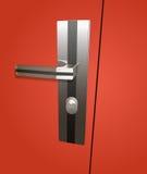 Drzwiowy kędziorek ilustracji
