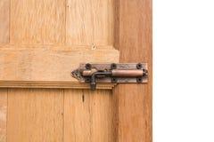 Drzwiowy kędziorek i zapadka Obrazy Stock