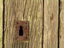 drzwiowy keyhole Zdjęcia Royalty Free
