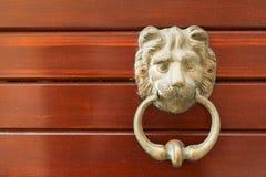 Drzwiowy knocker zdjęcia stock