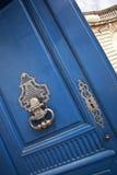 Drzwiowy knocker fotografia stock