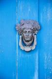 Drzwiowy knocker zdjęcie royalty free