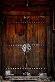 drzwiowy koreański tradycyjny Obrazy Royalty Free